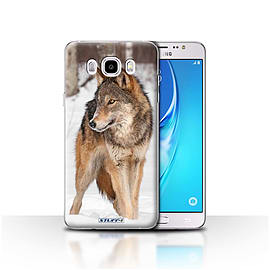 STUFF4 Case/Cover for Samsung Galaxy J5 2016 / Wolf Design / Wildlife Animals Collection Mobile phones