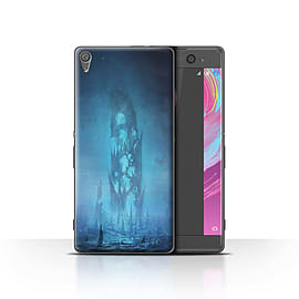 Official Chris Cold Case/Cover for Sony Xperia XA / Remnant Design / Alien World Cosmos Collection Mobile phones