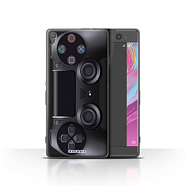 STUFF4 Case/Cover for Sony Xperia XA / Playstation PS4 Design / Games Console Collection Mobile phones