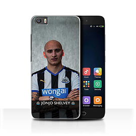 Newcastle United FC Case/Cover for Xiaomi Mi5/Mi 5/Shelvey Design/NUFC Football Player 15/16 Mobile phones
