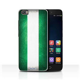 STUFF4 Case/Cover for Xiaomi Mi5/Mi 5 / Nigeria/Nigerian Design / Flags Collection Mobile phones