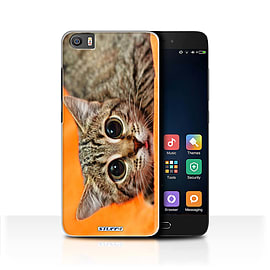 STUFF4 Case/Cover for Xiaomi Mi5/Mi 5 / Big Eye Cat Design / Funny Animals Collection Mobile phones