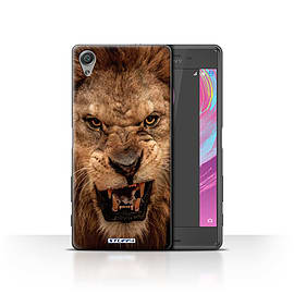 STUFF4 Case/Cover for Sony Xperia X Performance / Lion Design / Wildlife Animals Collection Mobile phones
