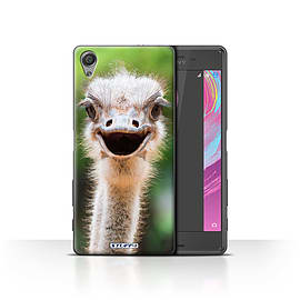 STUFF4 Case/Cover for Sony Xperia X Performance / Ostrich/Emu Design / Wildlife Animals Collection Mobile phones