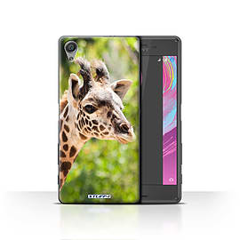 STUFF4 Case/Cover for Sony Xperia X / Giraffe Design / Wildlife Animals Collection Mobile phones