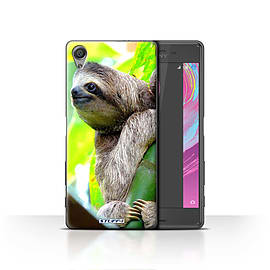 STUFF4 Case/Cover for Sony Xperia X / Sloth Design / Wildlife Animals Collection Mobile phones