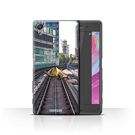 STUFF4 Case/Cover for Sony Xperia X Performance / Slippery Tracks Design / Imagine It Collection Mobile phones