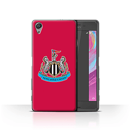 Newcastle United FC Case/Cover for Sony Xperia X Performance/Colour/Red Design/NUFC Football Crest Mobile phones