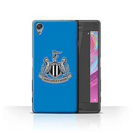 Newcastle United FC Case/Cover for Sony Xperia X Performance/Mono/Blue Design/NUFC Football Crest Mobile phones