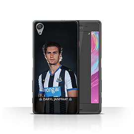 Official NUFC Case/Cover for Sony Xperia X Performance/Janmaat Design/NUFC Football Player 15/16 Mobile phones