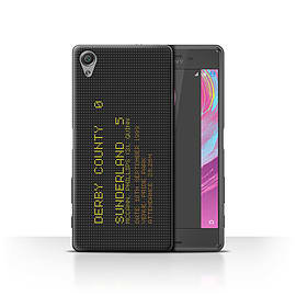 Sunderland AFC Case/Cover for Sony Xperia X Performance/1999 Design/SAFC Famous Football Result Mobile phones