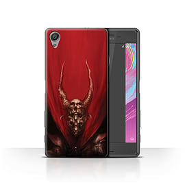 Official Chris Cold Case/Cover for Sony Xperia X Performance/Red Duke Design/Dark Art Demon Mobile phones