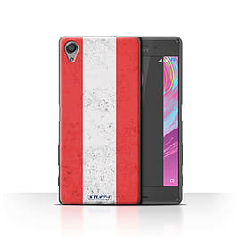 STUFF4 Case/Cover for Sony Xperia X Performance / Austria/Austrian Design / Flags Collection Mobile phones