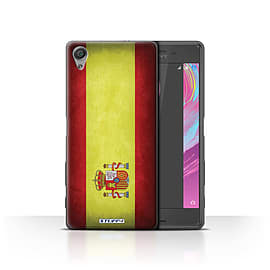 STUFF4 Case/Cover for Sony Xperia X Performance / Spain/Spanish Design / Flags Collection Mobile phones