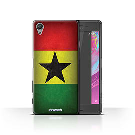 STUFF4 Case/Cover for Sony Xperia X Performance / Ghana/Ghanaian Design / Flags Collection Mobile phones