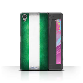 STUFF4 Case/Cover for Sony Xperia X Performance / Nigeria/Nigerian Design / Flags Collection Mobile phones