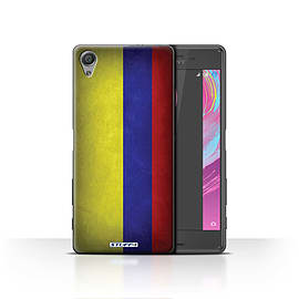 STUFF4 Case/Cover for Sony Xperia X / Columbia/Columbian Design / Flags Collection Mobile phones