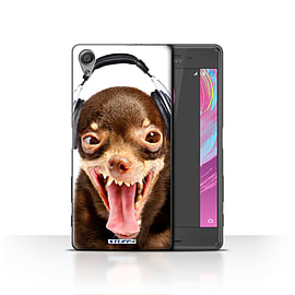 STUFF4 Case/Cover for Sony Xperia X / Ridiculous Dog Design / Funny Animals Collection Mobile phones