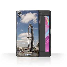 STUFF4 Case/Cover for Sony Xperia X / London Eye Design / Imagine It Collection Mobile phones