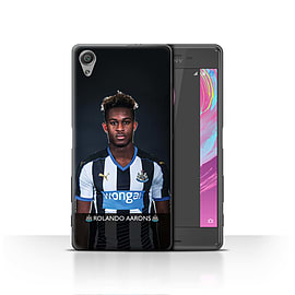 Official Newcastle United FC Case/Cover for Sony Xperia X/Aarons Design/NUFC Football Player 15/16 Mobile phones
