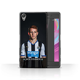 Official Newcastle United FC Case/Cover for Sony Xperia X/Colback Design/NUFC Football Player 15/16 Mobile phones