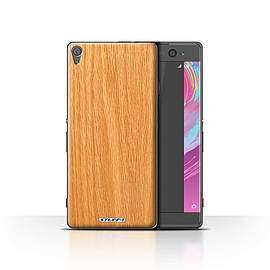 STUFF4 Case/Cover for Sony Xperia XA / Pine Design / Wood Grain Effect/Pattern Collection Mobile phones