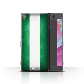 STUFF4 Case/Cover for Sony Xperia XA / Nigeria/Nigerian Design / Flags Collection Mobile phones