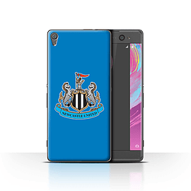 Official Newcastle United FC Case/Cover for Sony Xperia XA/Colour/Blue Design/NUFC Football Crest Mobile phones