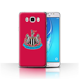 Newcastle United FC Case/Cover for Samsung Galaxy J5 2016/Colour/Red Design/NUFC Football Crest Mobile phones