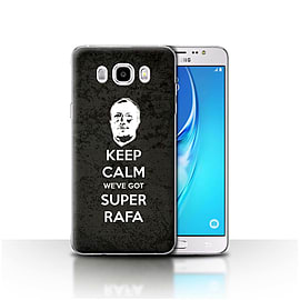 Newcastle United FC Case/Cover for Samsung Galaxy J5 2016/Keep Calm Design/NUFC Rafa Ben?tez Mobile phones
