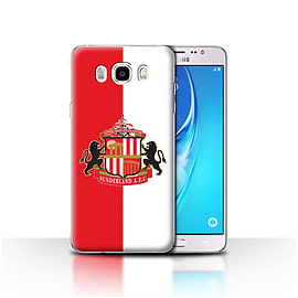 Sunderland AFC Case/Cover for Samsung Galaxy J5 2016/Red/White Design/SAFC Football Club Crest Mobile phones