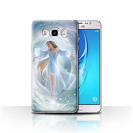 STUFF4 Case/Cover for Samsung Galaxy J5 2016 / Air Dress Design / Fantasy Angel Collection Mobile phones