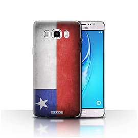 STUFF4 Case/Cover for Samsung Galaxy J5 2016 / Chile/Chiliean Design / Flags Collection Mobile phones