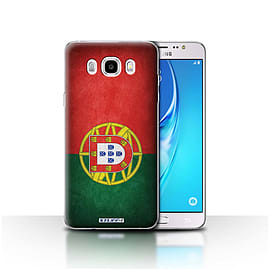 STUFF4 Case/Cover for Samsung Galaxy J5 2016 / Portugal/Portuguese Design / Flags Collection Mobile phones