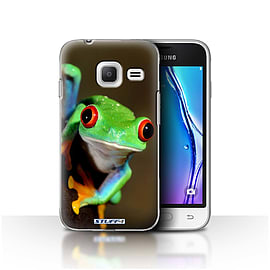 STUFF4 Case/Cover for Samsung Galaxy J1 Nxt/Mini / Frog Design / Wildlife Animals Collection Mobile phones