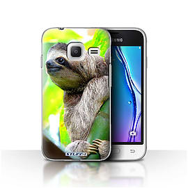 STUFF4 Case/Cover for Samsung Galaxy J1 Nxt/Mini / Sloth Design / Wildlife Animals Collection Mobile phones