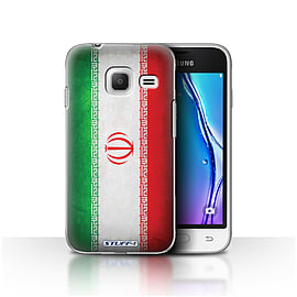 STUFF4 Case/Cover for Samsung Galaxy J1 Nxt/Mini / Iran/Iranian Design / Flags Collection Mobile phones