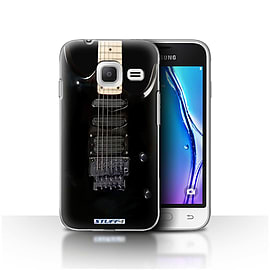 STUFF4 Case/Cover for Samsung Galaxy J1 Nxt/Mini / Black Electirc Design / Guitar Collection Mobile phones