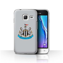 Newcastle United FC Case/Cover for Samsung Galaxy J1 Nxt/Mini/Colour/Grey Design/NUFC Football Crest Mobile phones