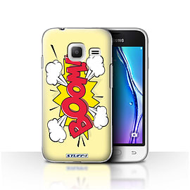 STUFF4 Case/Cover for Samsung Galaxy J1 Nxt/Mini / Boom! Design / Comics/Cartoon Words Collection Mobile phones