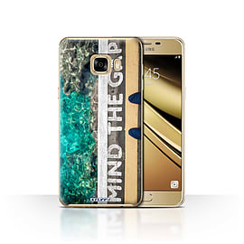 STUFF4 Case/Cover for Samsung Galaxy C7 / Mind The Gap Design / Imagine It Collection Mobile phones