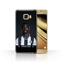 Newcastle United FC Case/Cover for Samsung Galaxy C7/Ciss? Design/NUFC Football Player 15/16 Mobile phones