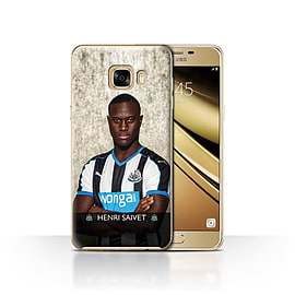 Newcastle United FC Case/Cover for Samsung Galaxy C7/Saivet Design/NUFC Football Player 15/16 Mobile phones