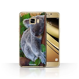 STUFF4 Case/Cover for Samsung Galaxy C7 / Koala Bear Design / Wildlife Animals Collection Mobile phones