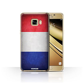 STUFF4 Case/Cover for Samsung Galaxy C7 / France/French Design / Flags Collection Mobile phones