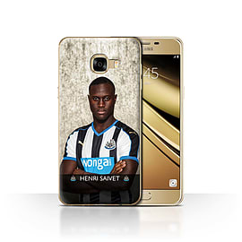 Newcastle United FC Case/Cover for Samsung Galaxy C5/Saivet Design/NUFC Football Player 15/16 Mobile phones