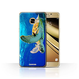 STUFF4 Case/Cover for Samsung Galaxy C5 / Turtle Design / Wildlife Animals Collection Mobile phones