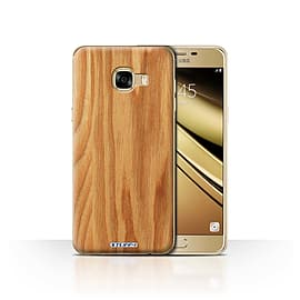 STUFF4 Case/Cover for Samsung Galaxy C5 / Oak Design / Wood Grain Effect/Pattern Collection Mobile phones