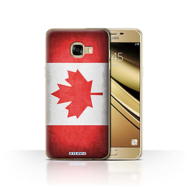 STUFF4 Case/Cover for Samsung Galaxy C5 / Canada/Canadian Design / Flags Collection Mobile phones