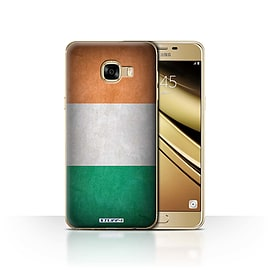STUFF4 Case/Cover for Samsung Galaxy C5 / Ireland/Irish Design / Flags Collection Mobile phones